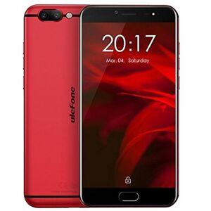 Ulefone Gemini Pro - Android 5,5 pollici FHD schermo 4G smart Helio X27 Deca Core 2.6GHz, 4GB RAM + 64GB ROM, fotocamere tripleImpronta digitale Tipo-C - Rosso