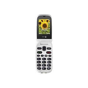 Doro 6030CH_W Telefono Cellulare, Champagne/Bianco