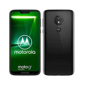 Motorola Moto G7 Power, Smartphone Android 9.0, Display 6,2, Camera da 12Mp, 4/64 GB, Dual Sim, Nero (Ceramic Black)