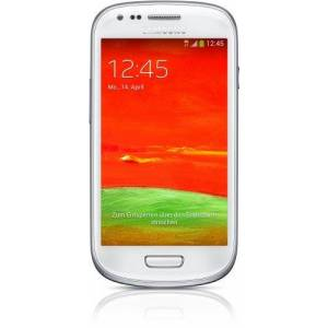 Samsung Galaxy S3 Mini GT-I8200N Smartphone, Display 4 Pollici, Fotocamera 5 MP, Memoria 8GB, Android 4.2, Bianco [Germania]
