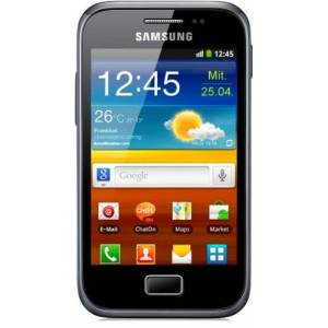 Samsung Galaxy Ace Plus S7500 Smartphone, Touchscreen, 5 Megapixel, Android 2.3 - Dark-blue