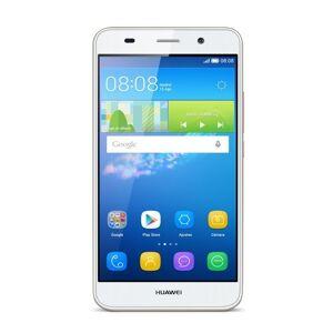 "Huawei Y6 Smartphone, Display 5.0"" HD, IPS, 1 GB RAM, 8 GB Memoria Interna, Fotocamera 8 MP, Android 5.1, Bianco"