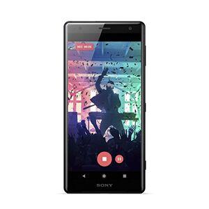 """Sony Xperia XZ2 - Smartphone 5.7 """"(Octa-core 2.8 GHz, RAM 4 GB, memoria interna 64 GB, fotocamera 19 MP, Android), Nero (Versione spagnola)"""