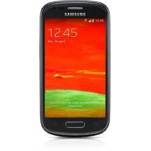 Samsung Galaxy S3 Mini GT-I8200N Smartphone, Display 4 Pollici, Fotocamera 5 MP, Memoria 8GB, Android 4.2, Nero [Germania]