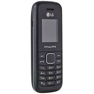 "LG B200E Cellulare, Display 1.45"", Nero [Italia]"