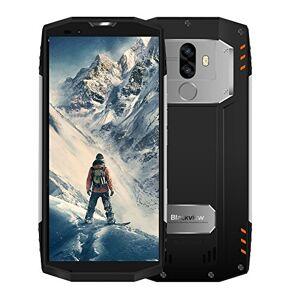 "Blackview 2019Blackview BV9000 Pro Outdoor Rugged Smartphone IP68 4G, 6GB+128GB, 13MP+8MP, 5.7"" FHD+ IPS Antiurto Dual SIM Cellulare da Lavoro Resistenti 4180mAh, GPS/NFC/Hotspot/Face ID-Argento [Italia]"