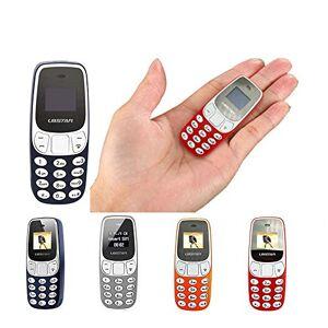 Comprare Web MINI TELEFONO CELLULARE FUNZIONANTE PORTATILE TASCABILE L8 STAR BM10 DUAL SIM GSM BLUETOOTH (ROSSO)
