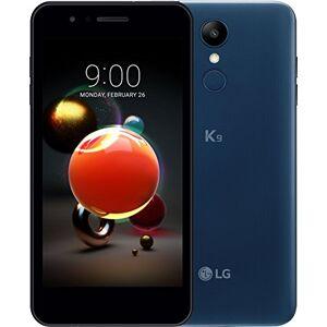 LG K9 smartphone Dual SIM con Display 5'' HD, batteria da 2500mAh, fotocamera 8MP, Selfie 5MP, Quad-Core 1.3GHz, Memoria 16GB, 2GB RAM, Android 7.1.2 Nougat, Moroccan Blue [Italia]