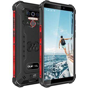 "OUKITEL WP5 Rugged Smartphone in Offerta,5.5"" FHD+ IP68 Outdoor Smartphone Robusto,Batteria da 8000 mAh 4 LED Flash Cellulare, Quad-core 4GB +32GB Telefonia,Dual 4G,GPS(Nero)"