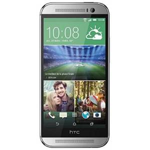 HTC One (M8) Smartphone, Display 5 Pollici, Quad-Core 2,3GHz, 2GB RAM, Android 4.4.2, Argento [EU]