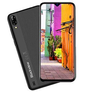Blackview A60 - Smartphone senza contratto, Dual SIM, 4080 mAh, Android 8.1 Oreo, 16 GB ROM, espandibile fino a 128 GB, fotocamera posteriore da 13 MP, fotocamera frontale da 5 MP, Nero