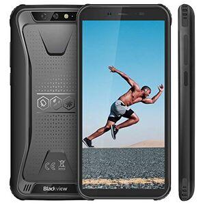 "Blackview Rugged Smartphone, Blackview BV5500 Outdoor Smartphone, Dual Sim da 4400mAh, 16GB + 2GB, 32GB Espandibili, 8MP+2MP, Android 8.1, Cellulare Antiurto 5.5"" HD+ Face ID, GPS/Bussola/WIFI/Hotspot[Italia]"