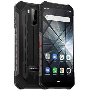 """Ulefone Rugged smartphone (2019), Ulefone ARMOR X3 con modalit subacquea, 5.5"""" cellulari ip68 Android 9.0, Dual SIM, 2 GB di RAM 32 GB ROM, 8MP + 5MP + 2MP, batteria 5000mAh, sblocco viso GPS Nero"""
