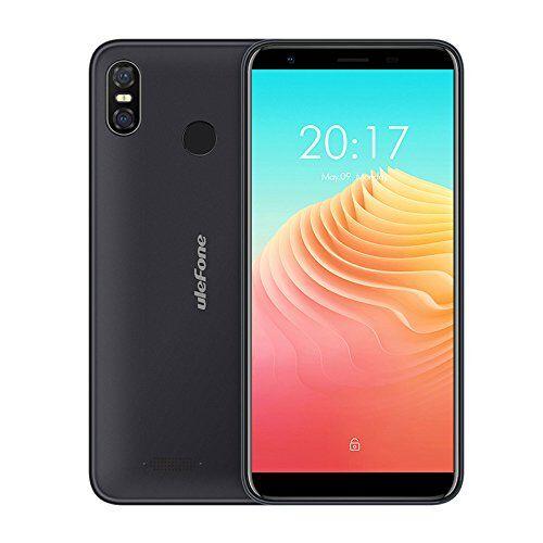 Ulefone S9 Pro Smartphone - 5,5 pollici HD+(18: 9 intero schermo) Android 8.1 4G, cellulare super snello, MTK6739 Quad Core da 2 GB+16 GB, dual SIM - Nero