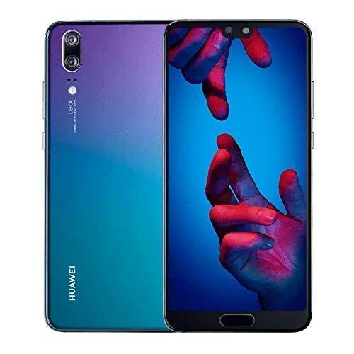Huawei P20 - Smartphone 14.7 cm (5.8), (4 GB 128 GB Doppia SIM 4G, 128 GB, 12 MP, Android 8.1), Blu (Twilight)