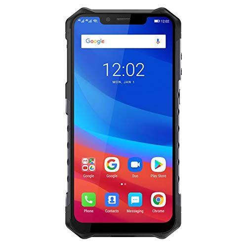 Ulefone. Ulefone Armor 6 Smartphone - IP68 impermeabile 6.219: 9 Schermata FHD Helio P60 6GB + 128GB Android 8.1 Telecamera posteriore doppia 21MP + 13MP NFC Face Sblocca versione globale Telefono (Nero)