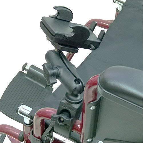 buybits sedia a rotelle montaggio con universale supporto telefono ( sku 21277)