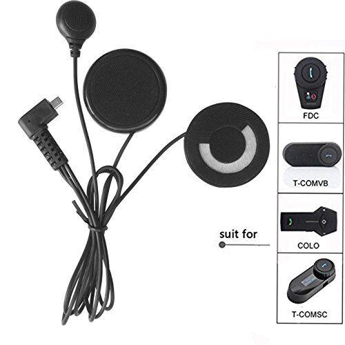 freedconn microphone headphone speaker cavo morbido accessorio cuffie per casco da moto interfono bluetooth per tcom fdcvb e colo
