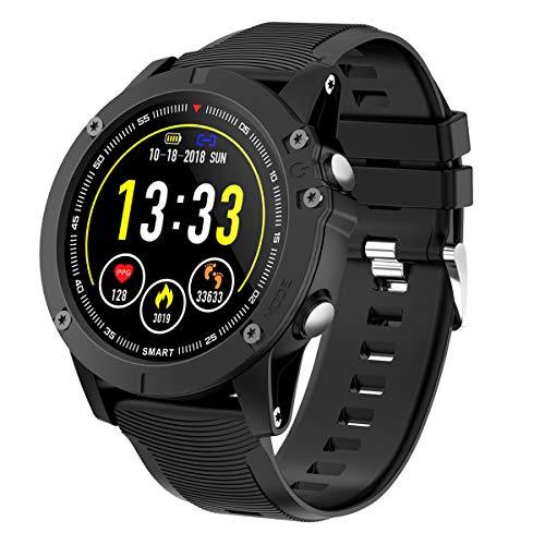 HolyHigh Smartwatch Orologio Cardiofrequenzimetro da Polso Impermeabile IP68 Smart Watch Fitness Tracker Sport Pressione Sanguigna Monitor per Ossigeno nel Sangue per Donna Uomo per Android e iOS