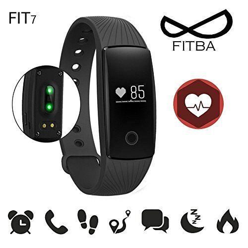 vanke activity tracker , fitness tracker, braccialetto monitoraggio battito cardiaco e rilevamentowireless activity wristband , touchscreen oled intelligente sport braccialetto per android e ios