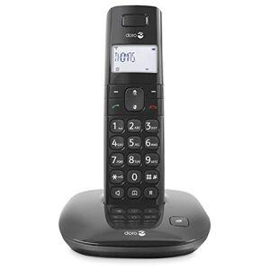 Doro Comfort 1010 Telefono Cordless per Anziani con Tasti Grandi Compatibile con Apparecchi Acustici (X 1)