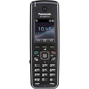 Panasonic KX-UDT111 Telefono DECT Nero Identificatore di chiamata