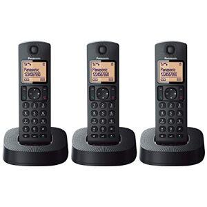 Panasonic kx-tgc313spb telefono cablate ISDN NERO