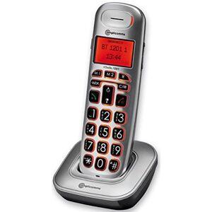 Amplicom BigTel 1201 Telefono DECT Identificatore di chiamata Grigio