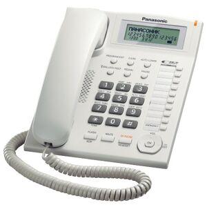 Panasonic KX-TS880EXW Telefono domestico, Bianco