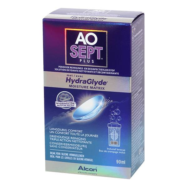 Alcon Aosept Hydraglide Plus 90ml