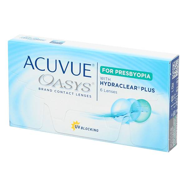 Johnson & Johnson Acuvue Oasys For Presbyopia 6