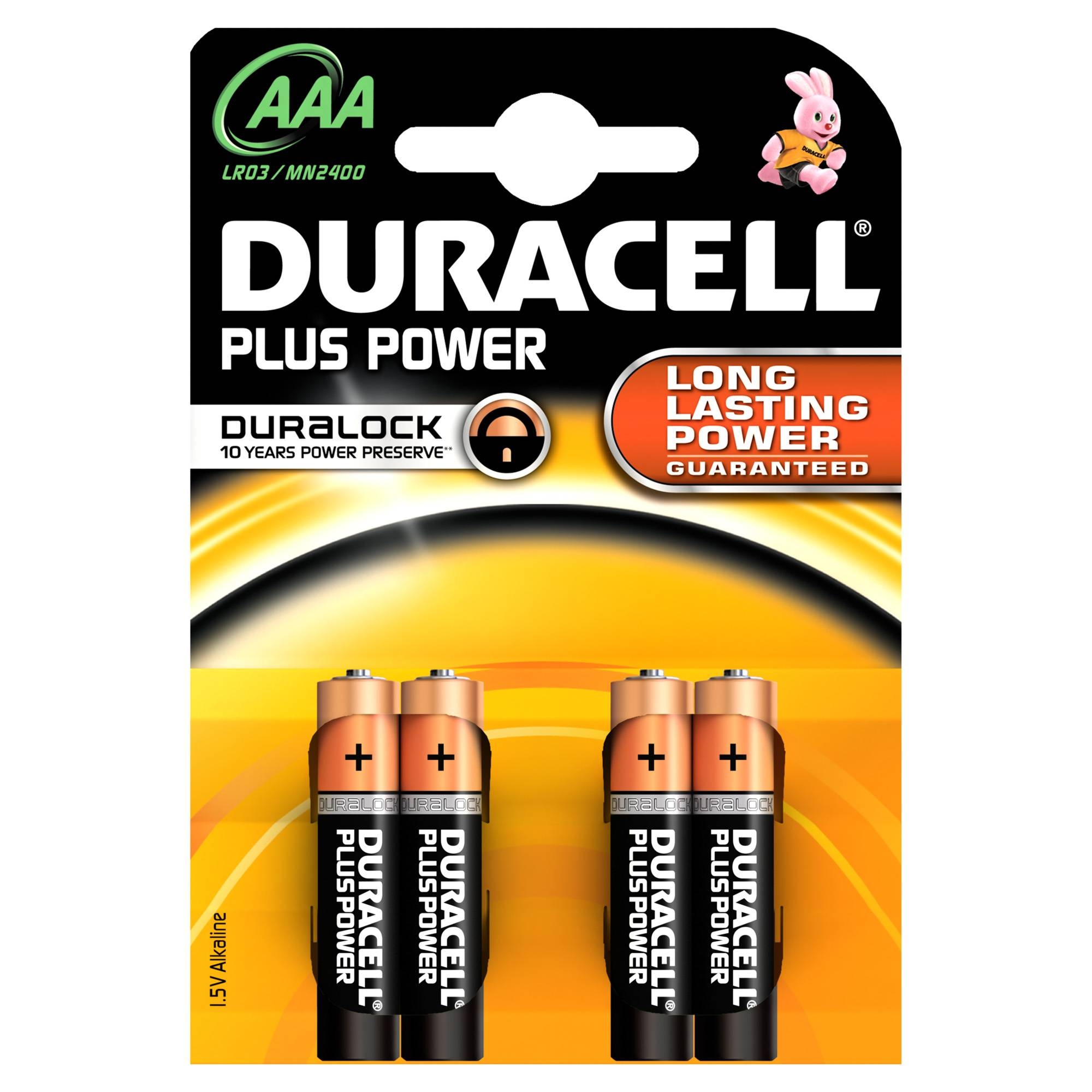Duracell Plus Power AAA - pile