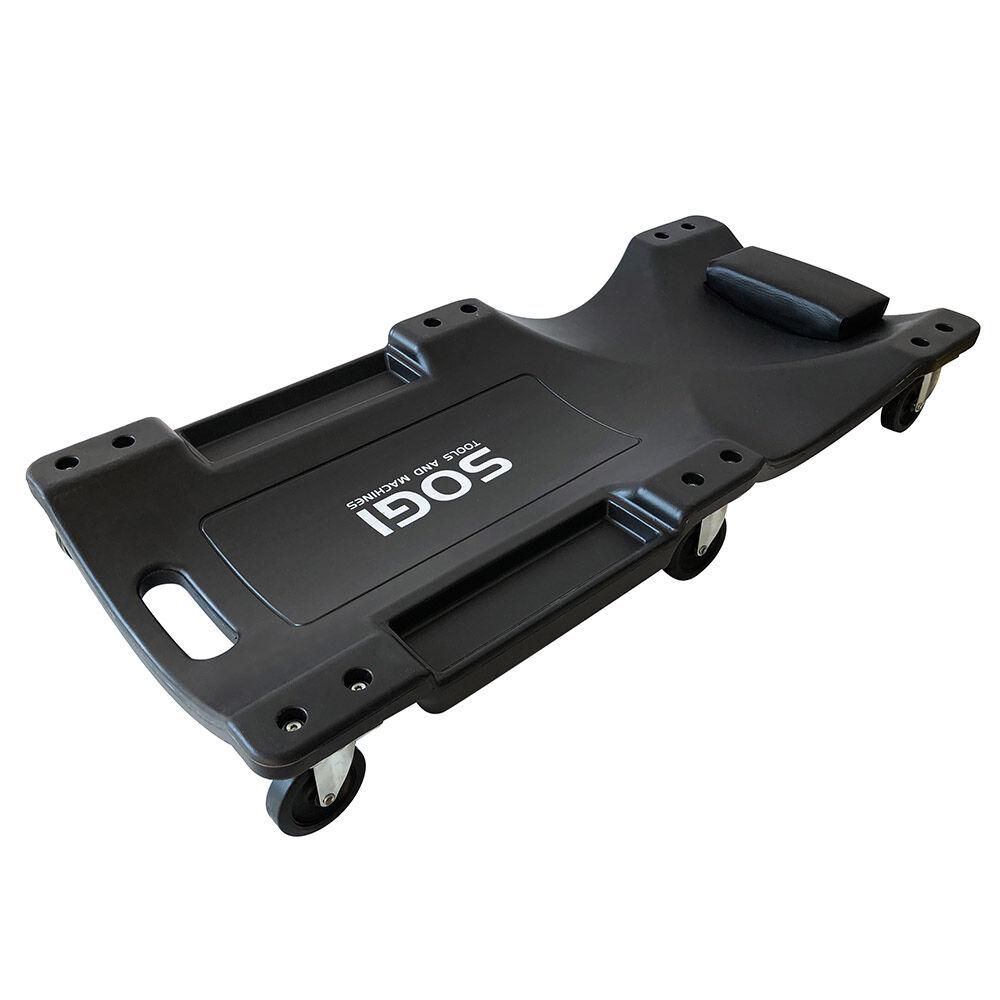 sogi carrello sotto auto ergonomico con ruote poggiatesta sogi x4-03