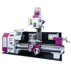SOGI Tornio trapano fresa macchina combinata da banco SOGI MS-2 fresatrice