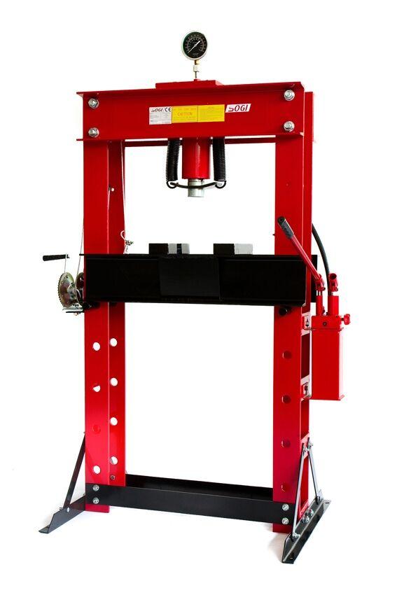SOGI Pressa idraulica manuale da pavimento SOGI P50-MD da 50 Ton