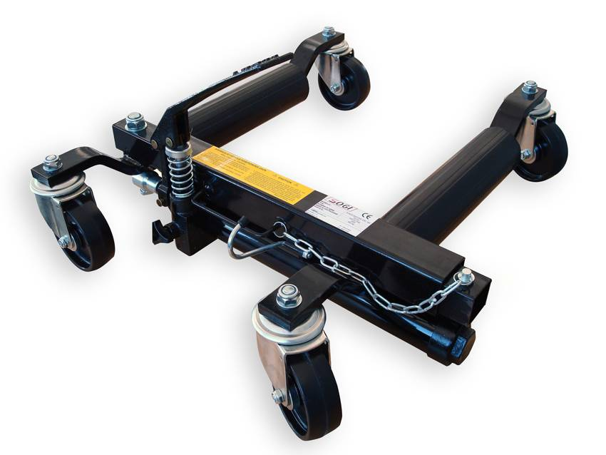 SOGI Cric idraulico a carrello sposta auto SOGI PO-02