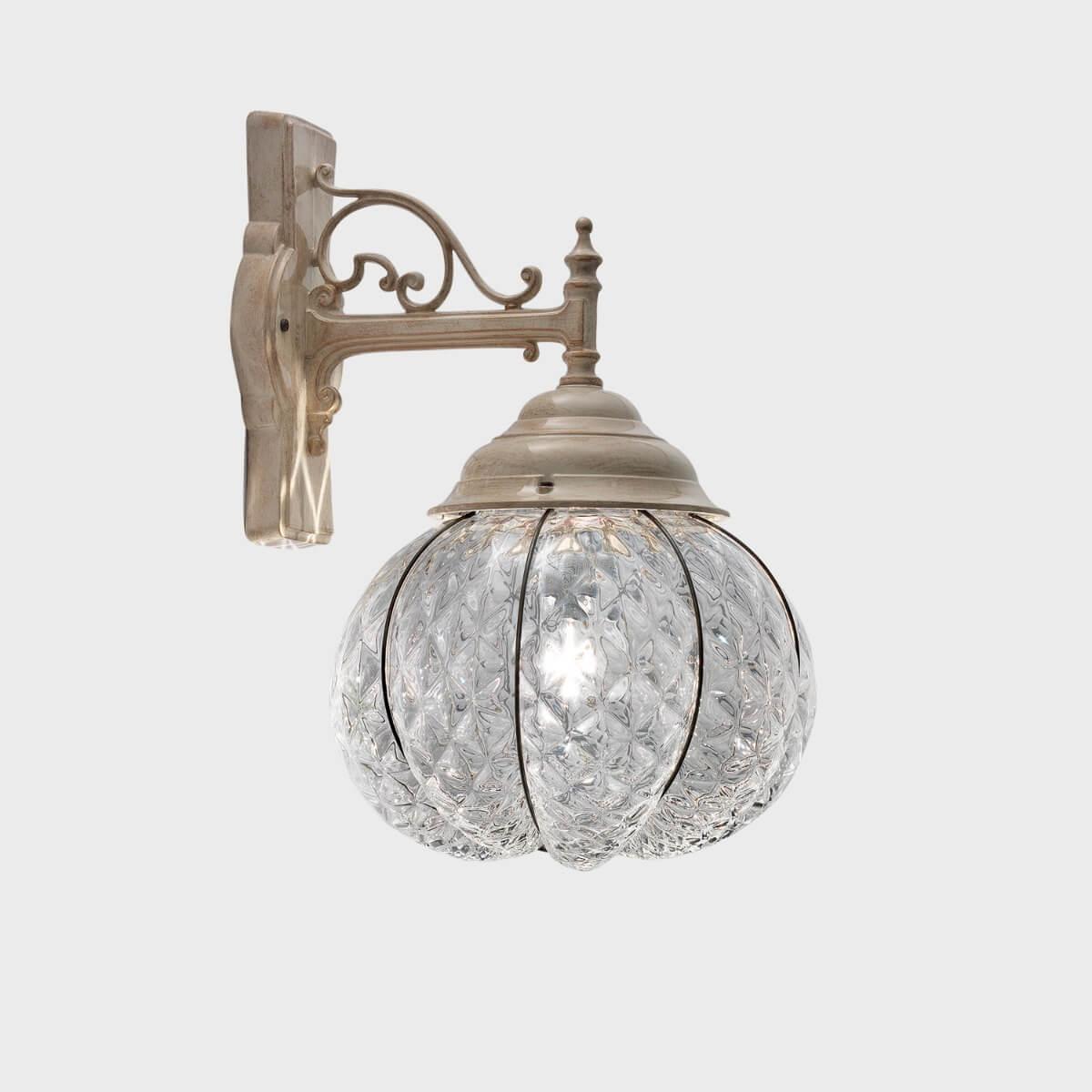 Vetro Di Murano Trasparente 1 Luci Lanterna Rialto