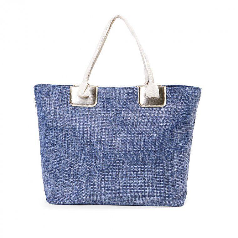 fashiondesign borsa mare per donna con lurex misura