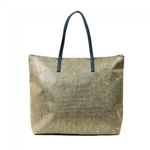 FASHIONDESIGN borsa mare per donna con disegno glitter 50x40x20