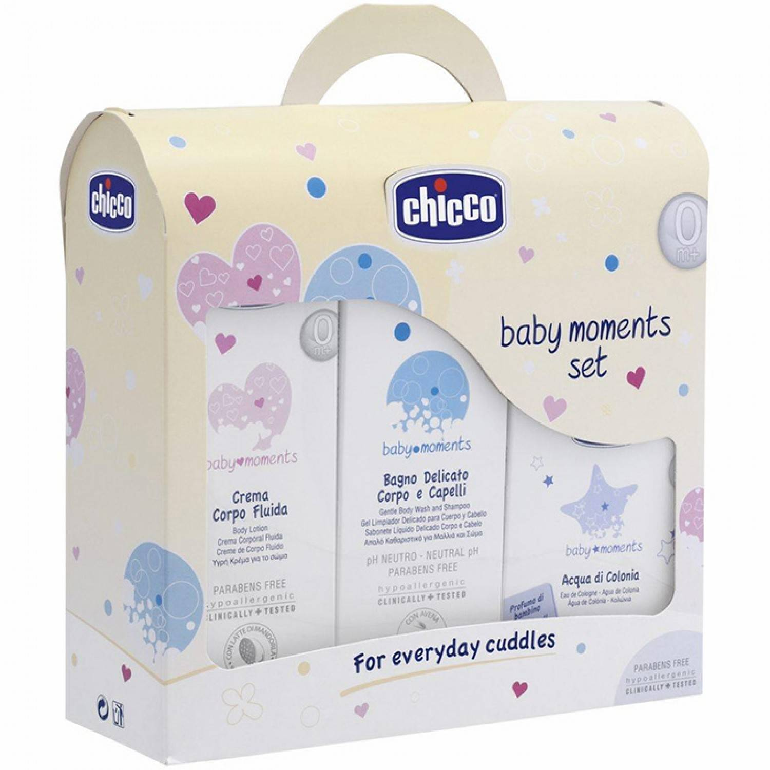 Chicco Set Igiene Chicco Baby Moments