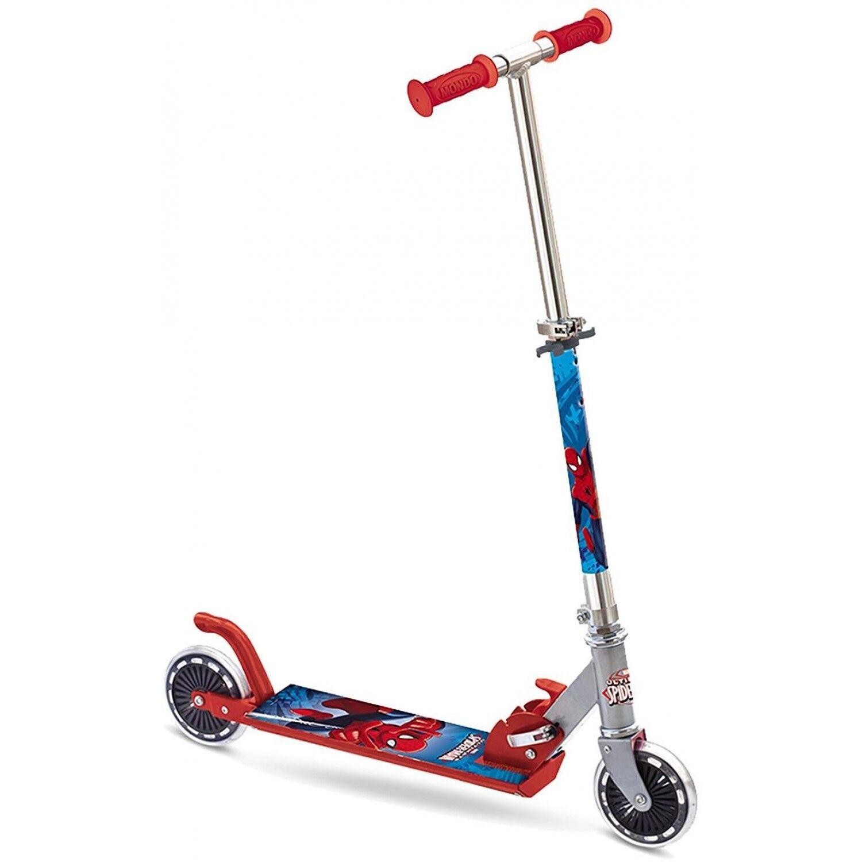 mondo monopattino mondo spiderman street scooter