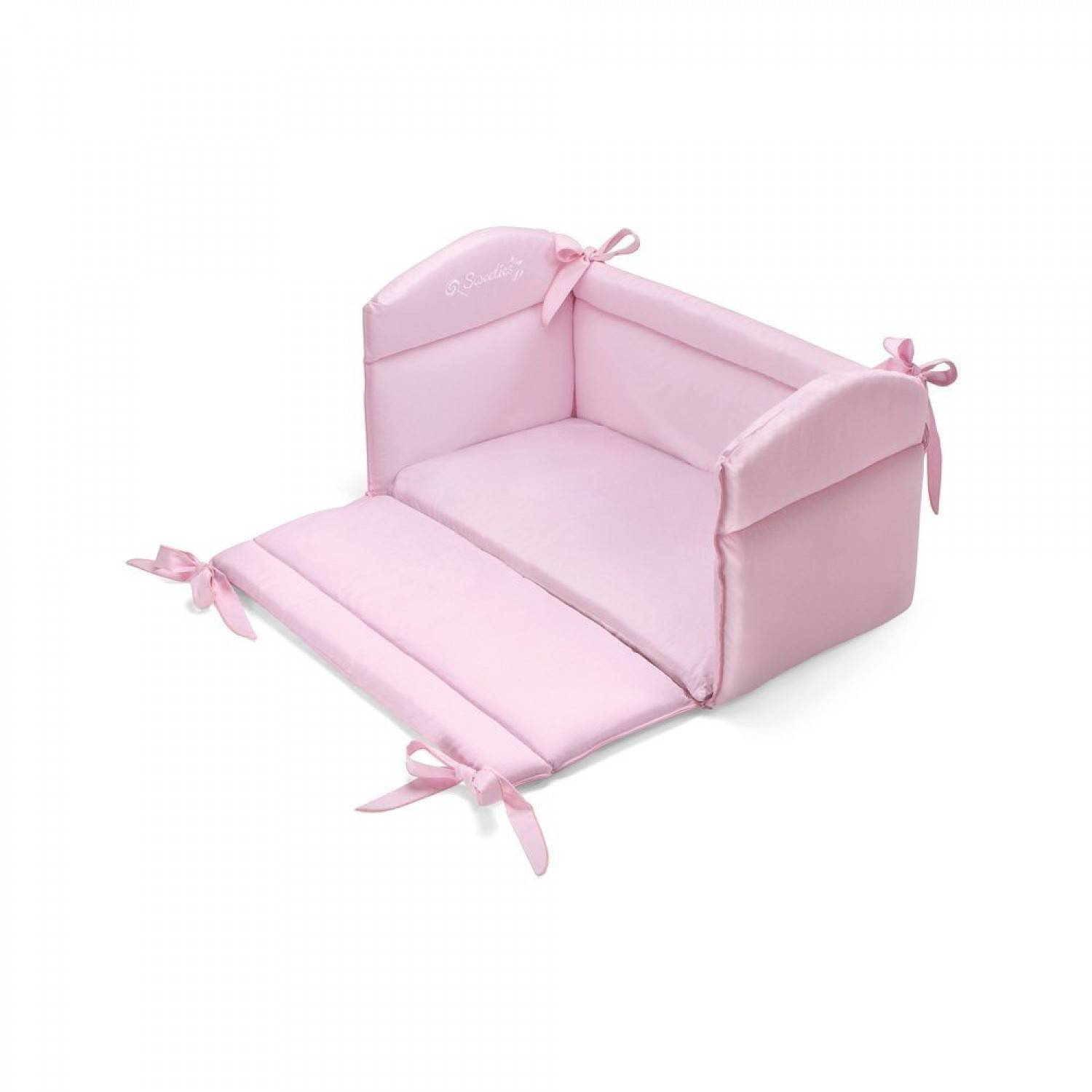 Pali Riduttore Lettino Pali Multiplo 3 in 1 Sweeties Rosa