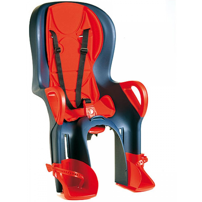 Okbaby Seggiolino Bici Posteriore OkBaby 10+ Rosso/Blu Ok Baby