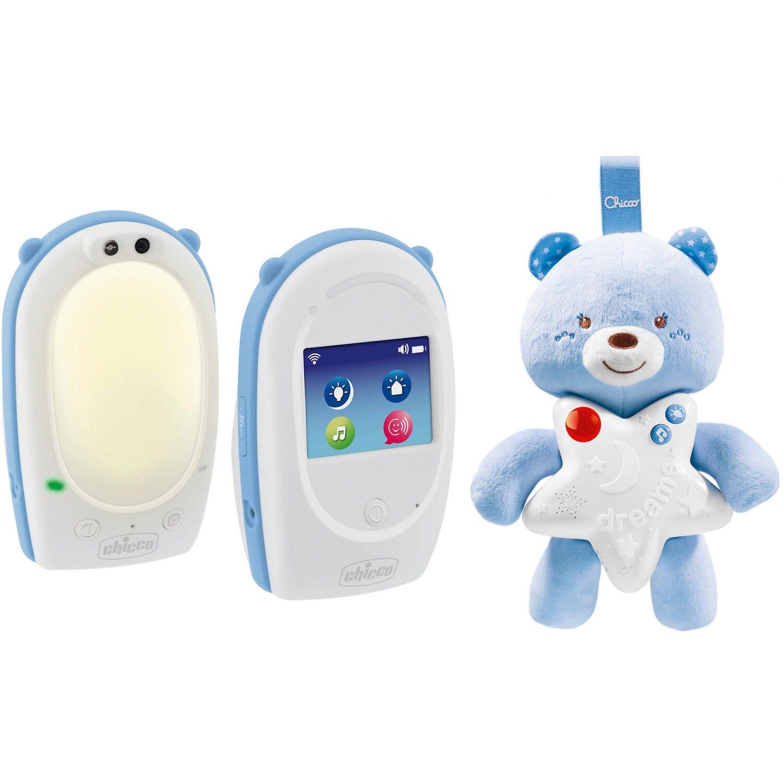Chicco Baby Monitor e Peluche Luminoso Chicco Goodnight Friends Azzurro