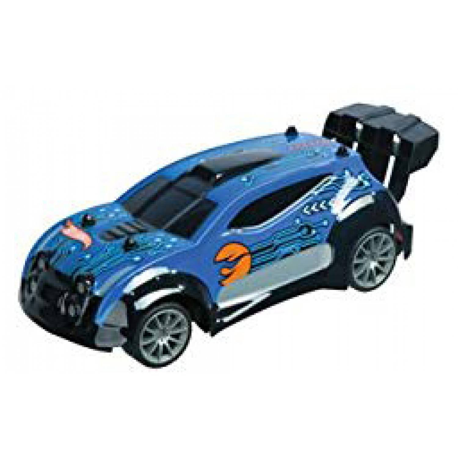 mondo macchinina mondo hot wheels radiocomandata racing series blu