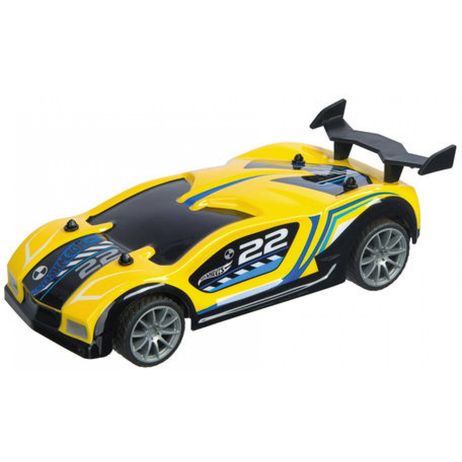 mondo macchinina mondo hot wheels radiocomandata speed series giallo