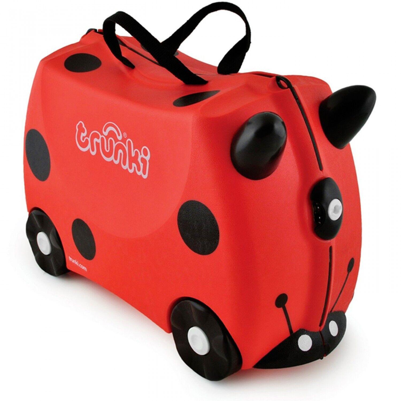 Trunki Valigia Cavalcabile Trunki Harley Ladybug Ladybird