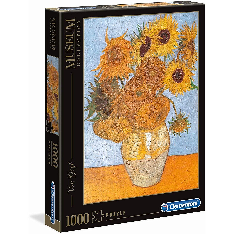 Clementoni Puzzle Clementoni Van Gogh Girasoli Museum Collection 1000 pz