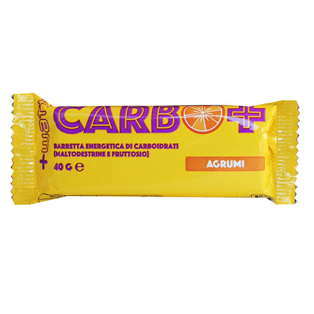 +watt carbo + bar 40 gr agrumi