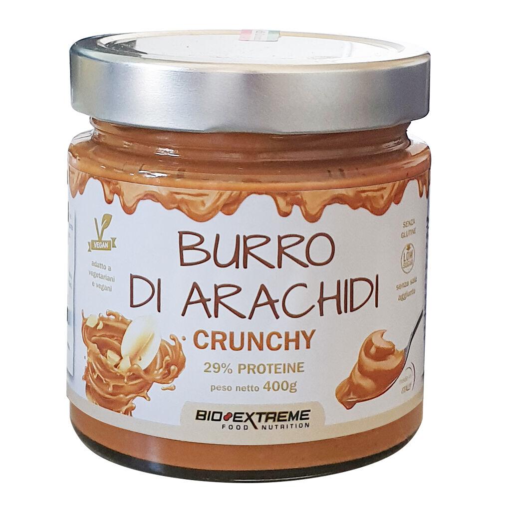 Bio Extreme Burro Di Arachidi Crunchy 400 Gr